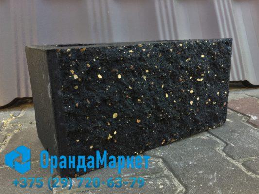 блок демлер черный размер 20х20х40 декоративный в Бресте