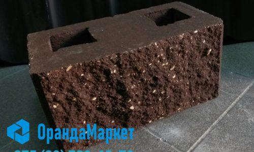 Блок Демлер коричневый размер 20х20х40 в Бресте