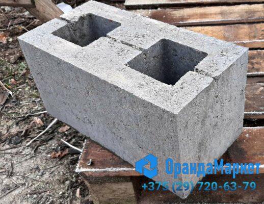 блок демлер гладкий серый